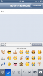 iPhone Emoji-Symbole