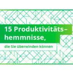 15 Productivitäts hemmnisse